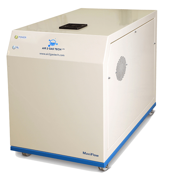 MaxiFlow Nitrogen Generator with integrated compressor